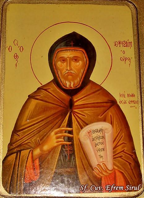 Sf. Cuv. Efrem Sirul 059