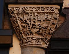 Padova, Veneto, Piazzetta Pedrocchi (groenling) Tags: italy house stone casa italia capital pd carving pietra grotesque padova padua capitello veneto cantondellebusie