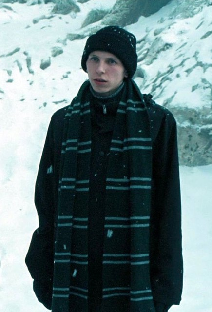 Harry Potter Scarf Knitting Pattern Slytherin : Harry Potter Slytherin House scarf (screen-accurate ...