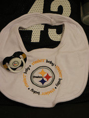 Super Bowl Diaper Cake 30 (diaper cakes) Tags: baby cakes sports sport cake children mom shower fan football pittsburgh child crafts nfl pregnant diaper packers moms gifts gift presents bow newborn greenbay present ribbon superbowl centerpiece diapers rodgers showers tulle steelers babyshower shrinkwrap pampers centerpieces huggies sportsfan luvs diapercake diapercakes polamalu swaddlers