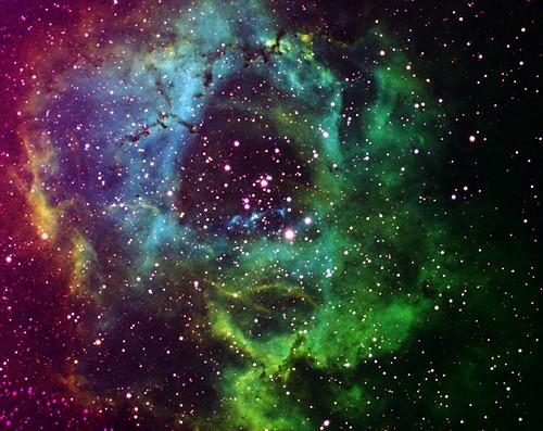 Rosette nebula by Mickut