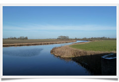 Reitdiep at Aduarderzijl (Michiel Thomas) Tags: pictures netherlands river picture nederland groningen reitdiep diep rivier provincie aduarderzijl daaip