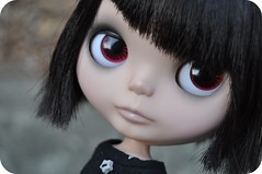 I do love these chips! (Lawdeda ) Tags: by hair top ooak blythe custom asymmetrical awesomeness ebl eightlongmonths sammydoe