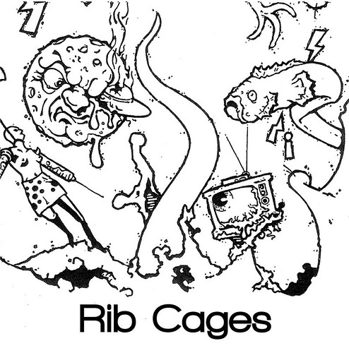 """Rib Cages 7"""" cover"""
