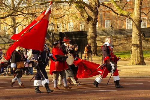 Charles I parade - 16