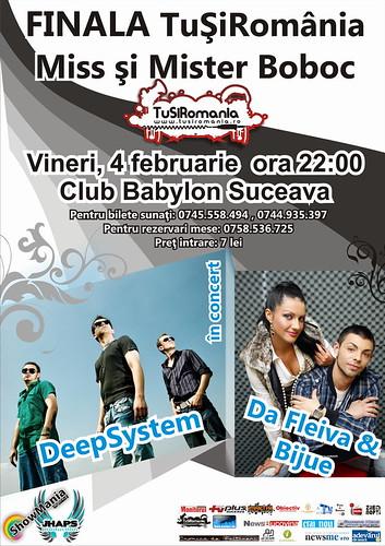 Marea finală Miss şi Mister TuSiRomania, ediţia 2011, în club Babylon Suceava