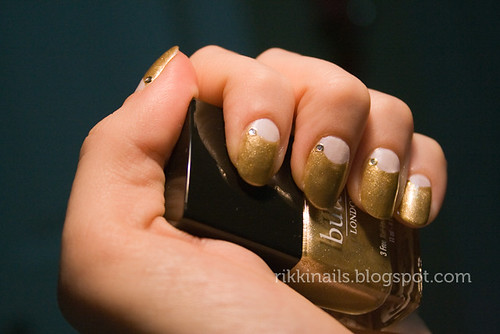 Butter London Full Monty Half Moon Manicure