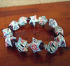 Musical Flowers Star Bracelet