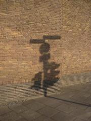 Traffic light (daniel_sh) Tags: city light shadow brick silhouette sign topv111 wall germany deutschland trafficlight licht interestingness ds schild mostinteresting minimalism simple schatten ampel kiel schleswigholstein mauer ziegel cotcmostinteresting flickraward