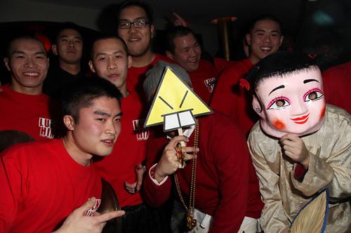 jim jones at a party
