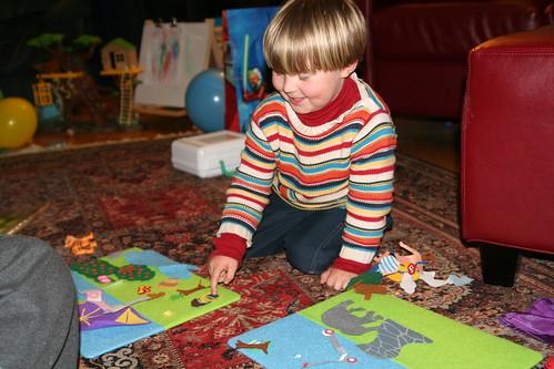 Felt Story Boards from Lucas