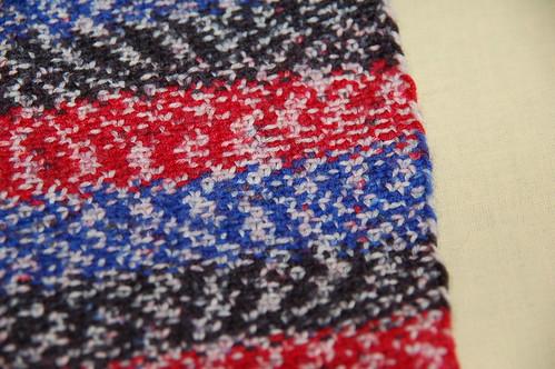 Decke aus Socka