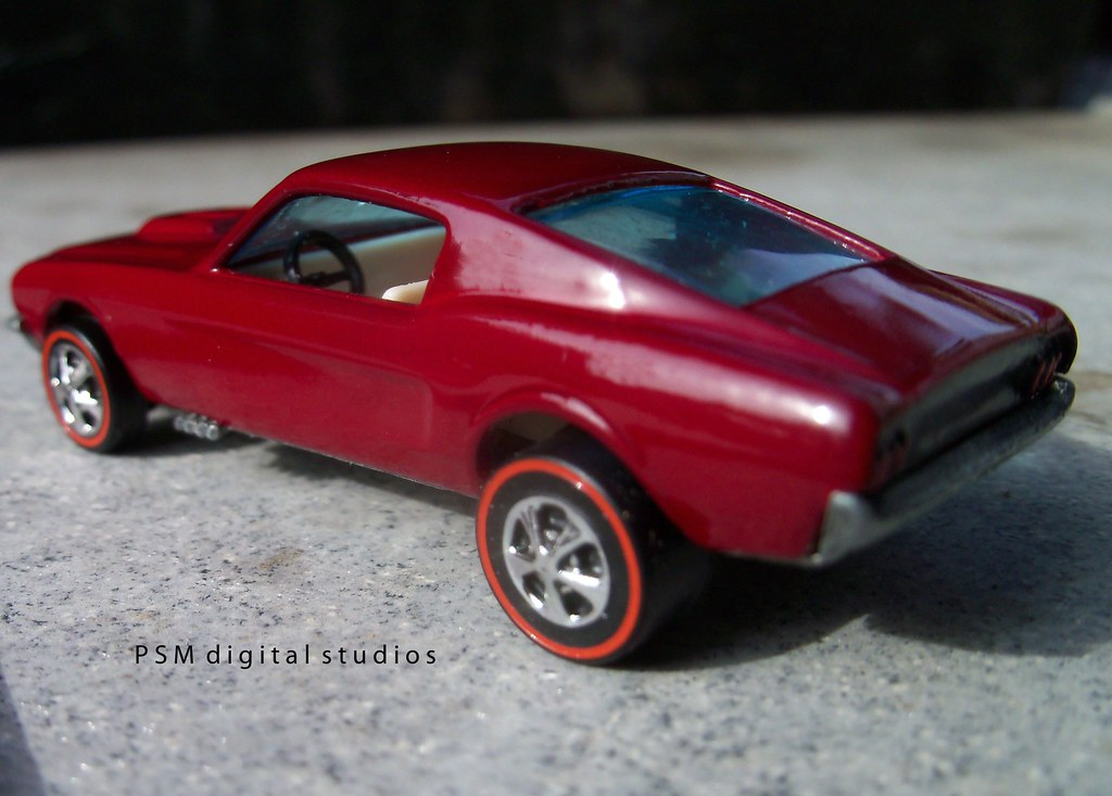 1967 Ford Mustang Fastback Restored Hot Wheels