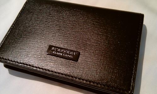 Burberry wallet black label