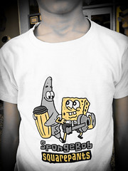 SpongeBob (Ahmed Ghazi) Tags: music yellow square kid child pants drum guitar sony bob tshirt sponge  h10