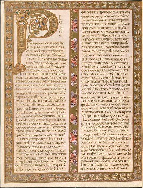 Evangeliar (Codex Aureus) - BSB Clm 14000 b