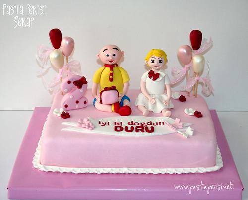 CAİLLOU CAKE - DURU 2ST BIRTHDAY
