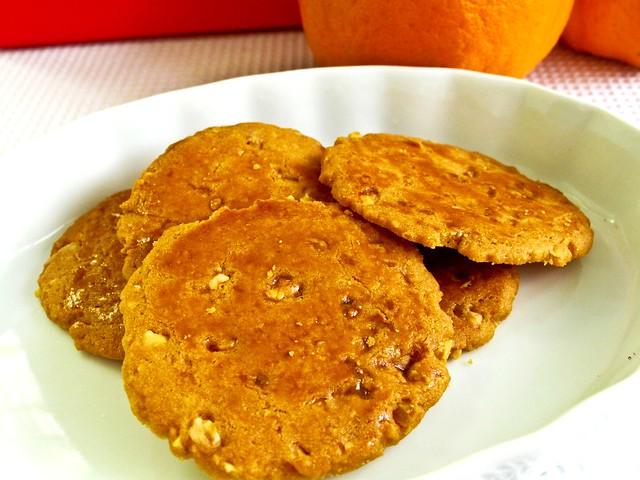IMG_0586 Handmade almond cookies , 手工杏仁饼