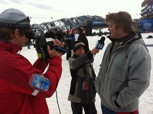 Noel Nelson interviews