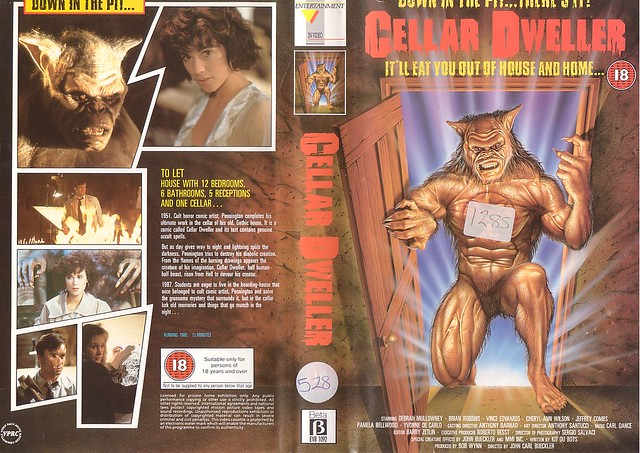 CELLER DWELLER (VHS Box Art)