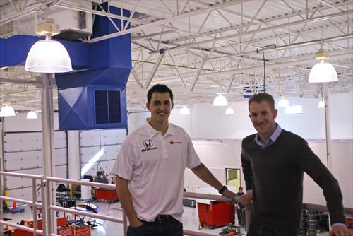 Graham Rahal and Charlie Kimball