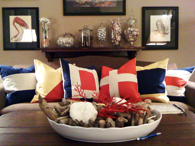 Nautical Throw Pillows front