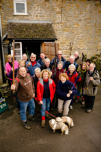 South Petherton Walking Group for Somerset Life