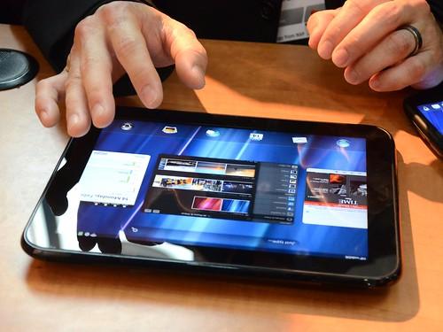 MWC 2011 продукты Hewlett-Packard на базе Web OS