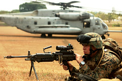 Marines provide cover fire and support (United States Marine Corps Official Page) Tags: usmc military marines marinecorps unitedstatesmarinecorps unitedstatesmarines marinespictures marinesphotos