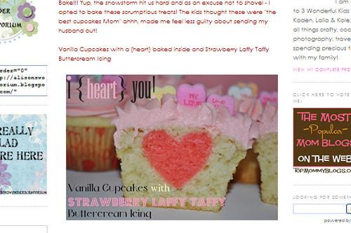 cupcakes from Alison's Wonder Scraporium