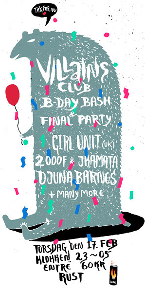 Villains Club 17.feb