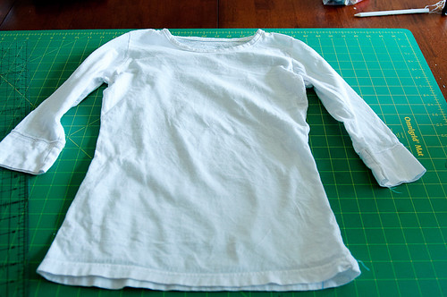 to be refashioned shirt