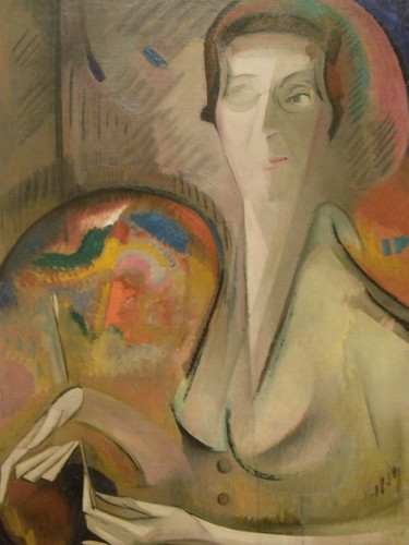 Alice Bailly Self-Portrait 1917
