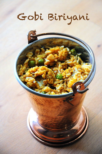 gobi biryani recipe