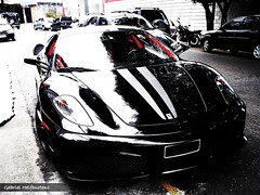 Ferrari 430 Scuderia (GabrielHelf) Tags: black gabriel car italia sopaulo ferrari carro paulo scuderia so velocidade sped 430 superesportivo 430scuderia gabrielhelf