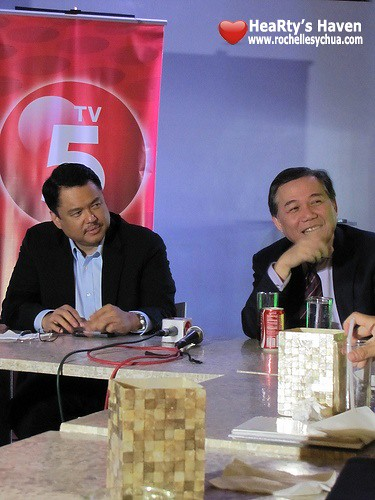 TV5 News Presscon
