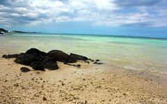 Beautiful Mauritius! (Bhagee...) Tags: ocean blue sea beach water wideangle mauritius seashore vbr bhagee canonxsi bhagyaraja