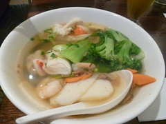 Seafood Noodle Soup $9.90 [Old Town Cafe, Swanston Street]