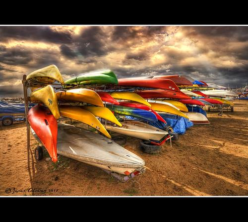 Velas multicolor