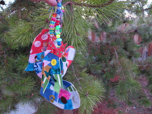 Our collage ornaments #1