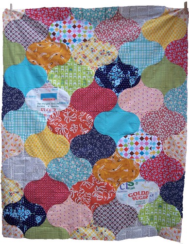 all mixed up quilt top