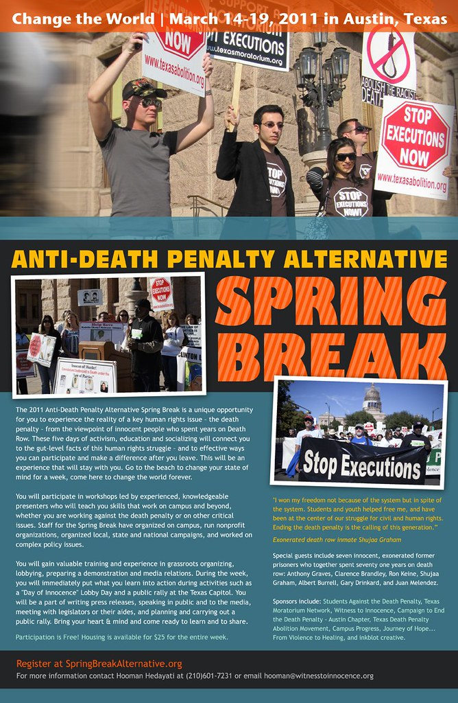 2011 Anti-Death Penalty Alternative Spring Break