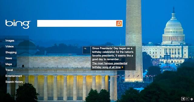 Bing President's Day