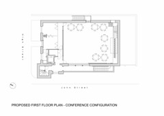 Proposed First Floor Plan - Conference Configuration