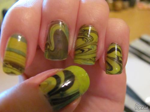 marble nail art-59