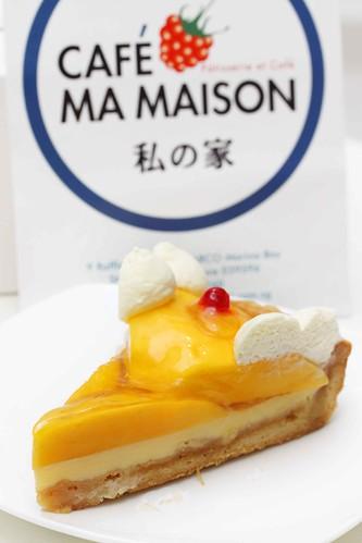 Mango Brulee Tart