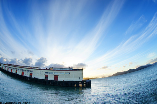 Fort Mason @ sunset