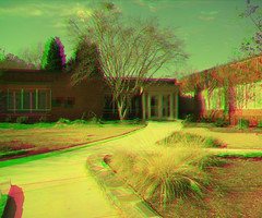 District Office Magenta Green Anaglyph