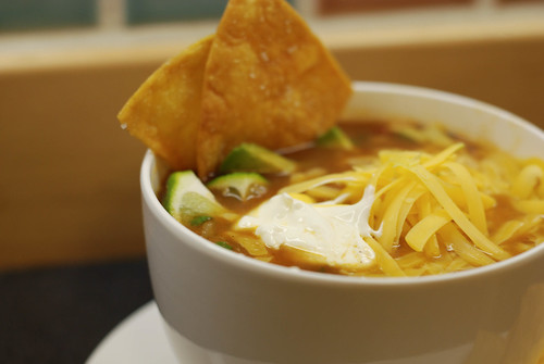 Tortilla Soup Close-up