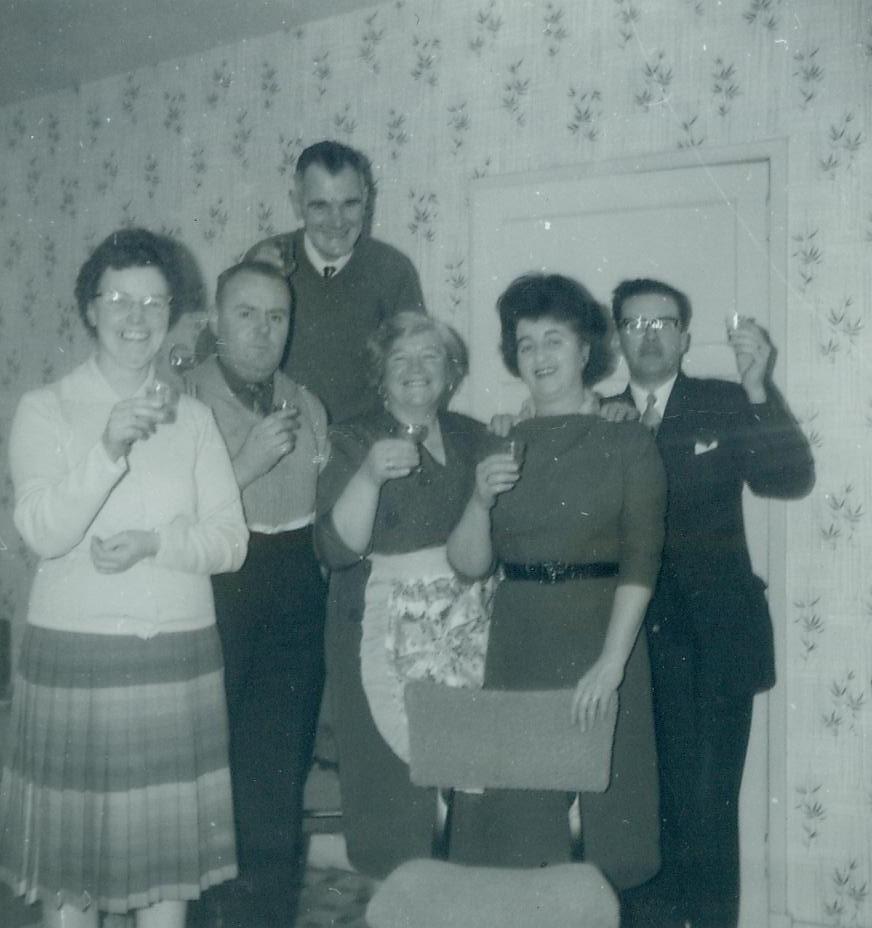 McCreath, Lyon and Mitchell families 1963